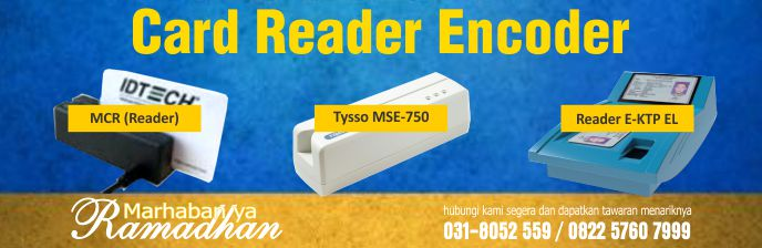 Promo RAMADHAN Card Reader dan Encoder