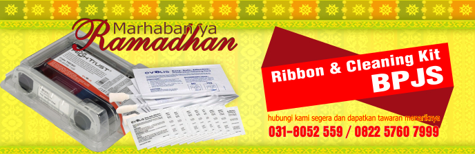 PROMO RAMADHAN - Ribbon dan Cleaning Kit BPJS Termurah